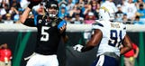 Blake Bortles makes the wrong kind of history with illegal forward passes