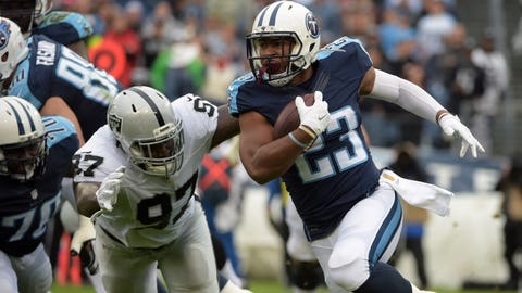 David Cobb, RB, Tennessee Titans