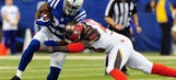 Colts coach Chuck Pagano: Frank Gore 'beat to crap'