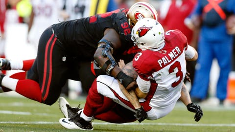 November 5: Arizona Cardinals at San Francisco 49ers, 4:05 p.m. ET