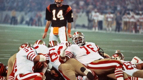 Super Bowl XVI: The 49ers stand tall at the goal-line
