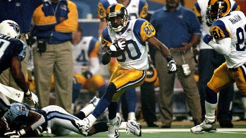 Isaac Bruce, Wide Receiver: NO