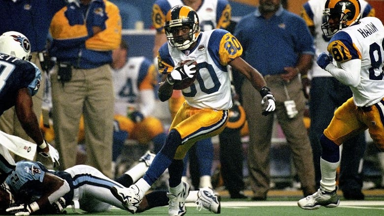 St. Louis Rams legend Isaac Bruce elected to NFL Hall of Fame