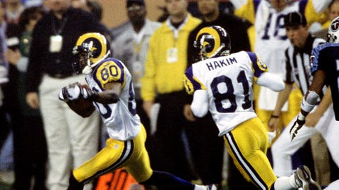 Super Bowl XXXIV: A high-flying act from the Greatest Show on Turf