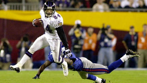 Super Bowl XXXV: Baltimore's Jermaine Lewis provides some tit-for-tat