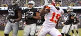 Chiefs bolster their playoff hopes — and break the Raiders' dreams