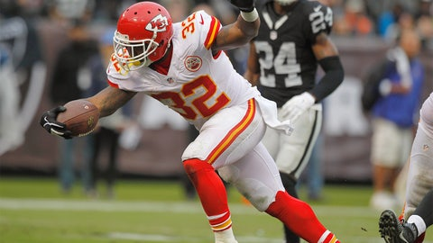 Kansas City Chiefs -- Spencer Ware (RB)