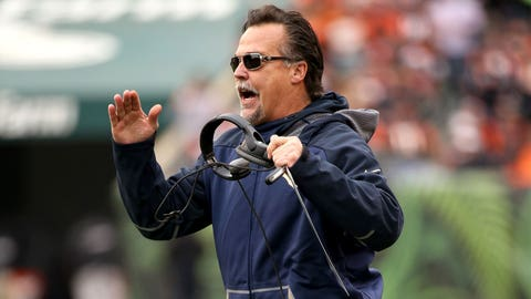 Hottest seat: St. Louis head coach Jeff Fisher