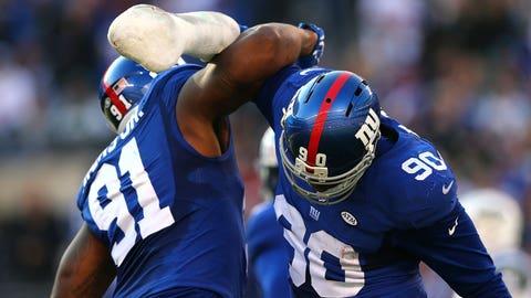 Comeback player: New York Giants defensive end Jason Pierre-Paul