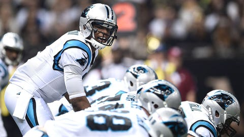 MVP: Carolina quarterback Cam Newton