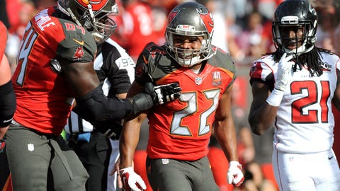 Biggest surprise player: Tampa Bay running back Doug Martin