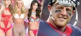 J.J. Watt watched 'Victoria's Secret Fashion Show' while watching game film