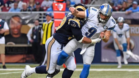 Detroit Lions: Will Matthew Stafford survive the season?