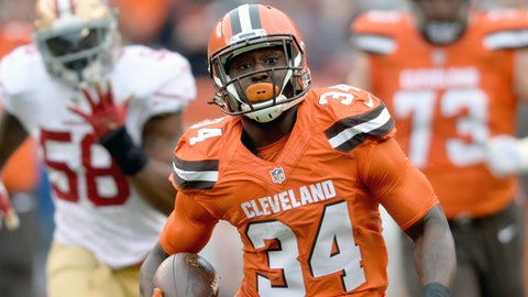 Manziel and Browns run over 49ers