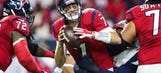 Hoyer out for Texans against Colts due to concussion