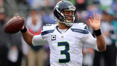 Russell Wilson putting up video-game numbers