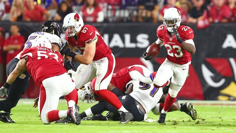 Arizona running back Chris Johnson   Former team: New York Jets   How acquired: Free agency (one year, $2 million, $400,000 guaranteed)