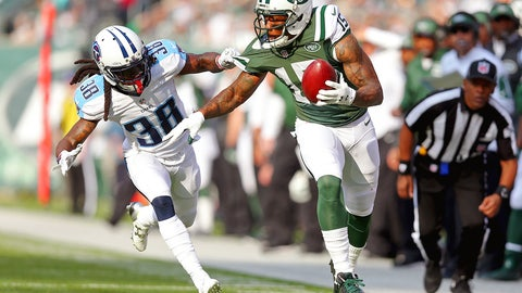 New York Jets wide receiver Brandon Marshall | Former team: Chicago | How acquired: Trade