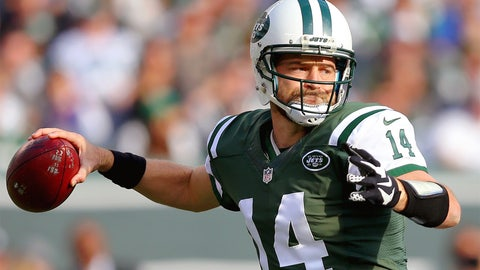 New York Jets quarterback Ryan Fitzpatrick | Former team: Houston | How acquired: Trade
