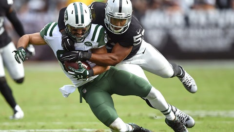 Oakland linebacker Malcolm Smith | Former team: Seattle | How acquired: Free agency (two years, $7 million, $3.75M guaranteed)