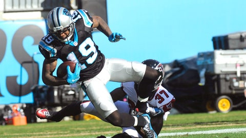Carolina wide receiver Ted Ginn Jr. | Former team: Arizona | How acquired: Free agency (two years, $4.2 million, $1.7M guaranteed)
