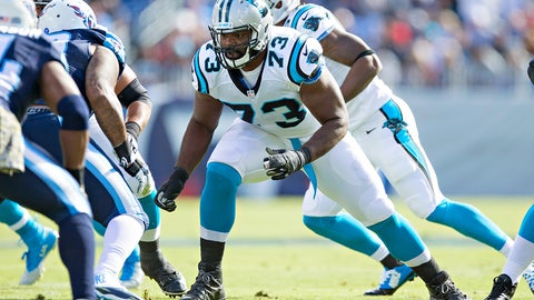 Carolina left tackle Michael Oher | Former team: Tennessee | How acquired: Free agency (two years, $7 million, $2.5M guaranteed)