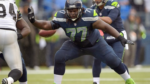 New York Jets guard James Carpenter   Former team: Seattle   How acquired: Free agency (four years, $19.1 million, $7.5M guaranteed)