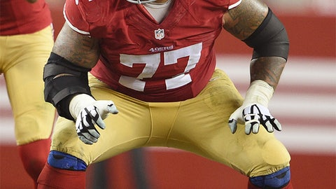 Arizona right guard Mike Iupati | Former team: San Francisco | How acquired: Free agency (five years, $40 million, $22.5M guaranteed)