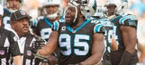 Charles Johnson apparently wasn't happy with being pulled in big win