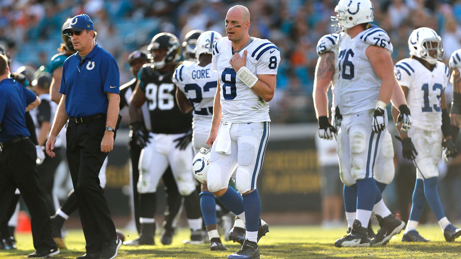 Colts 'fully anticipate' Hasselbeck being able to play