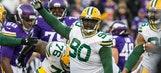 PHOTO: 337-pound Packers DT B.J. Raji can do a forward split