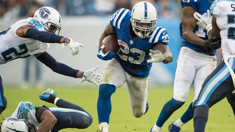 Indianapolis RB Frank Gore / Former team: San Francisco / How acquired: Free agency (three years, $12 million, $6.5M guaranteed)