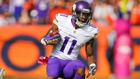 Minnesota WR Mike Wallace / Former team: Miami / How acquired: Trade