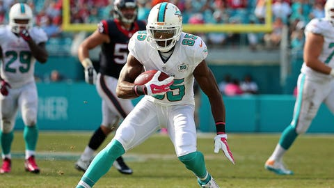 Miami WR Greg Jennings / Former team: Minnesota / How acquired: Free agency (two years, $8 million, $3M guaranteed)