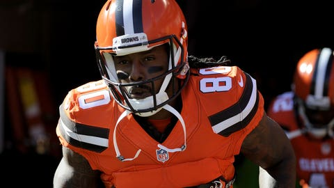 Cleveland WR Dwayne Bowe / Former team: Kansas City / How acquired: Free agency (two years, $12.5 million, $9M guaranteed)