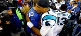 WATCH: Newton wanted to 'return the favor' after Beckham's dab
