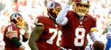 Redskins move closer to postseason berth, Cousins throws 4 TDs