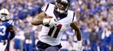 Texans rookie WR Strong making late-season contribution