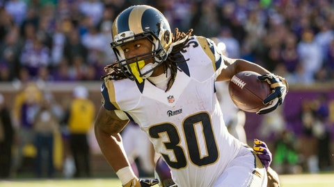 St. Louis running back Todd Gurley