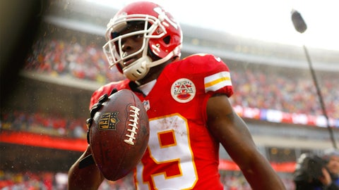 Jeremy Maclin, WR, Chiefs (groin): Out