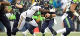 Hayes revives Rams' pass rush with three-sack outing at Seattle