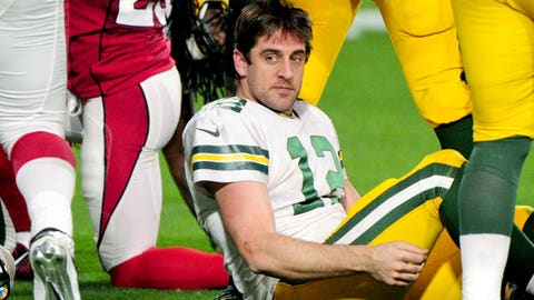 8 stats that put Aaron Rodgers in mediocre company this season