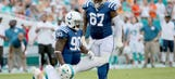 Dolphins rookie Jamil Douglas blames himself for loss vs. Colts