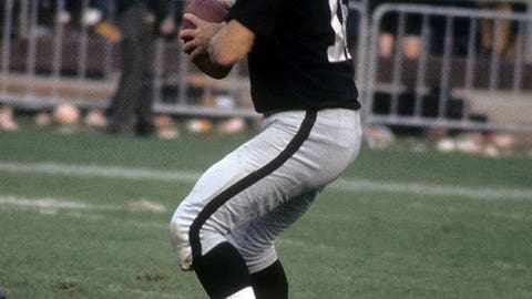 George Blanda, quarterback