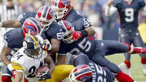 2004 season: Pittsburgh 29, Buffalo 24