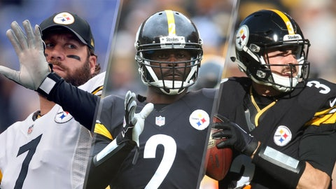 Ben Roethlisberger/Michael Vick/Landry Jones