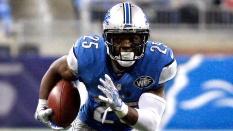 Theo Riddick, RB, Lions (wrist): Out