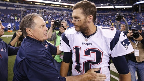 Bill Belichick, Tom Brady and the New England Patriots (football)