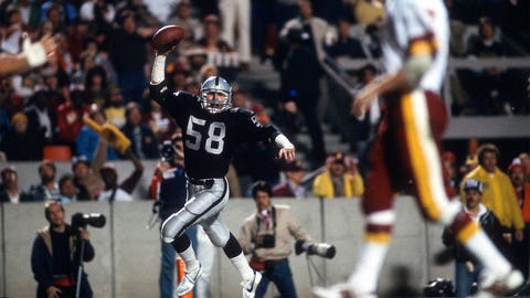Super Bowl XVIII: Jack Squirek intercepts Joe Theismann