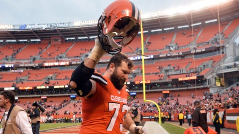 Offensive tackle: Joe Thomas, Cleveland Browns